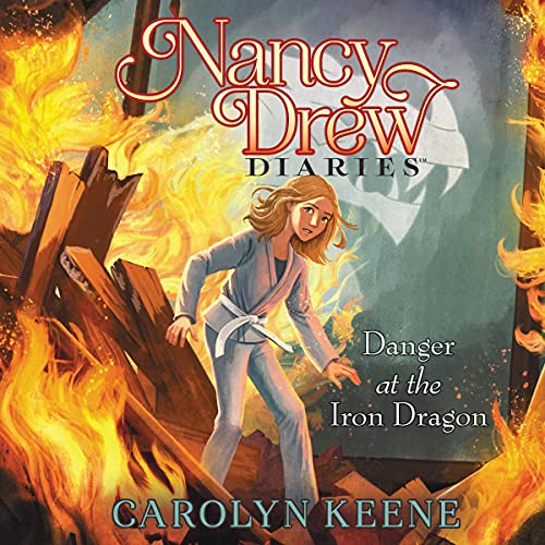 Danger at the Iron Dragon cover art