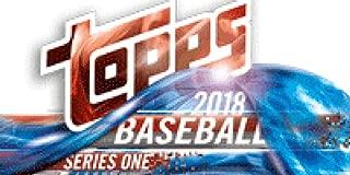 2018 Topps Series 1 Jumbo Box