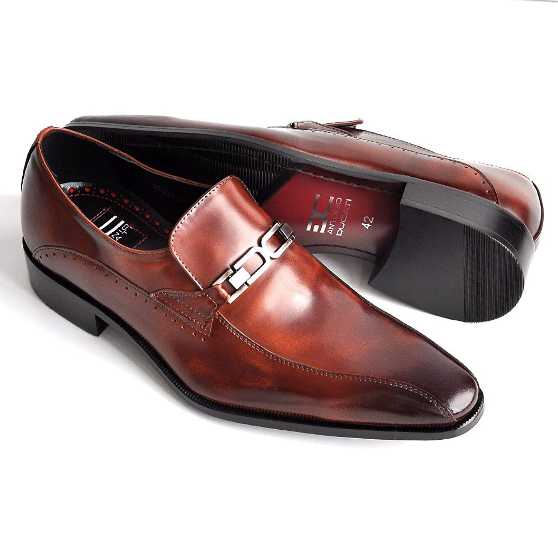 [アントニオデュカティ] ドゥカティ 靴 ビジネスシューズ 革靴 メンズ 本革 日本製 ローファー ビット 紳士靴 イタリア 1231