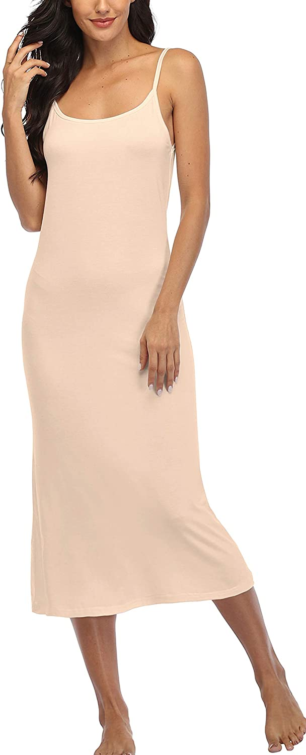 Summienlink Women's Full Slip for Under Long Trust Sales of SALE items from new works Sleeve Dresses Sexy