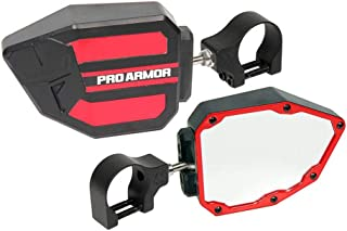 Pro Armor Side View Mirrors (1.75in) (Red)