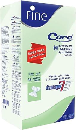 Fine Care Mega Large Heavy Brief Adult Diaper - 36 Pieces