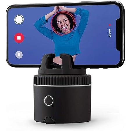 Pivo Pod Silver - Foto & Video a 360 con Auto Tracking e Mani Libere - Stream Live - Videochiamate - 12 Effetti Speciali - Cameraman Intelligente - per iPhone o Android