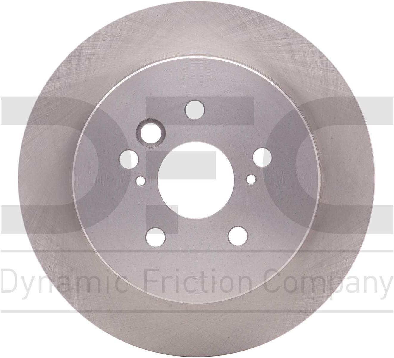 Rear Dynamic Friction Company Disc 1 600-76132 Rotor Max Seasonal Wrap Introduction 64% OFF Brake