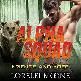 Alpha Squad: Friends & Foes audiobook cover art