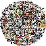 SHUYE Rock Band Hip Hop Meme Stickers Laptop DIY Guitar Motorcycle Luggage Skateboard Cool Funny Sticker Decal Kid Toys100Pcs