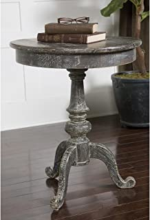 Uttermost Cadey Reclaimed Wood Side Table, 26.0