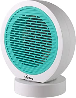 Ardes AR4F04O - Calefactor (Calentador de ventilador, 24 h, Azul, Blanco, 2000 W)
