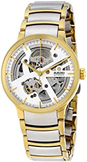 Rado Centrix Silver Skeleton Dial Automatic Mens Watch R30180113