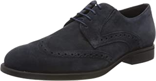 Geox U Domenico D, Zapatos de Cordones Brogue Hombre