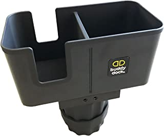 Buddy Dock Car Cup Holder Organizer - Fits Any Cup Holder/Vehicle, Adjustable