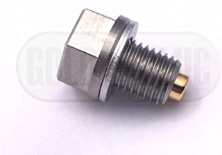 GoldPlug Stainless Steel Magnetic Drain Plug MP-01