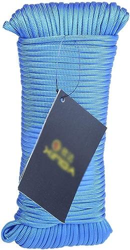 HH- Escalade Corde Corde d'escalade Corde S'élevante Bleue Extérieure 31m 50m 100m, Corde D'escape d'escalade De Corde d'escalade De Secours De Parachute