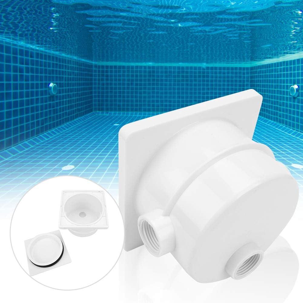 Caja de empalme de piscina, plástico Fácil de instalar Caja de empalme subacuática fácil de reemplazar, para distribución de luz subacuática para accesorios de piscinas
