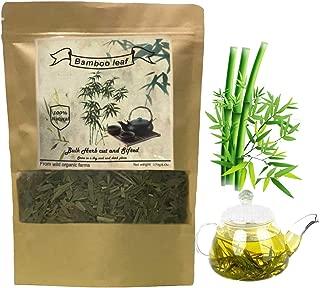 Bamboo Tea, Organic Bamboo Leaf Tea,Slimming Tea, Diet Tea (5.3oz/150g) Rich in Organic Silica- for Healthy Hair, Skin & Nails Growing 100% Natural Herbal Dried Loose Leaves