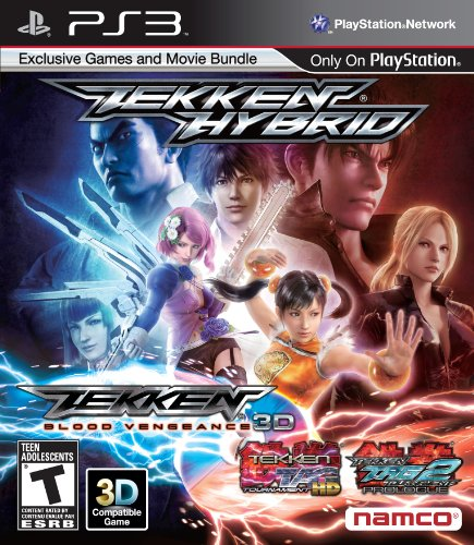 Namco Bandai Games Tekken: Hybrid, PS3 PlayStation 3 Inglés vídeo - Juego (PS3, PlayStation 3, Lucha, Modo multijugador, T (Teen))