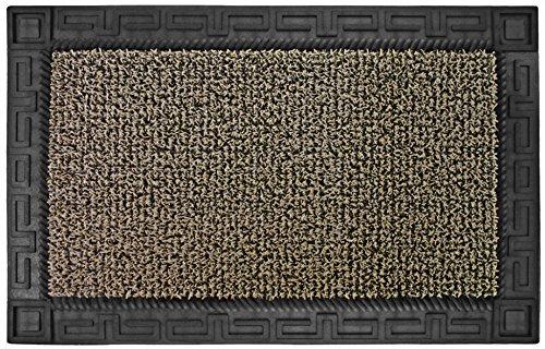 "Grassworx Clean Machine Omega Doormat, 24"" x 36"", Earth Taupe (10374063)"