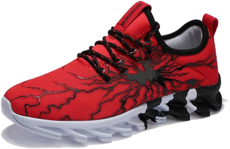 Men's shoes Trend Sports shoes Mesh shoes Men's Knife shoes Multicolor Couple Running shoes E