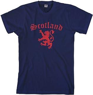 Threadrock Men`s Lion of Scotland T-Shirt
