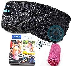 Sleep Headphones Wireless Music Sports Bluetooth Headband,Sleeping Headphones with Ultra Soft Thin Flat HD Stereo Speakers for Side Sleeping,Workout,Jogging,Yoga
