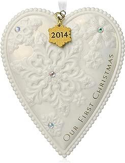 Hallmark Keepsake Ornament Our 1st Christmas 2014