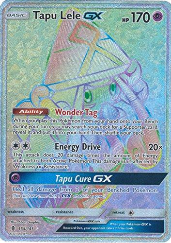 Tapu Lele-GX - 155/145 - Secret Rare