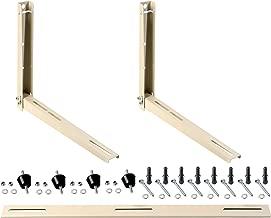 NADACS Universal Mini Split Wall Bracket and MOUNTING Hardware 3PC+ Hardware for Mini Split AC Condenser
