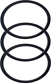 Pack of 3-30 oz Replacement Rubber Lid Ring, Gasket Seals, Lid for Insulated Stainless Steel Tumblers, Cups Vacuum Effect, fit for Brands - Yeti, Ozark Trail, Beast, Black by C&Berg Model 2019