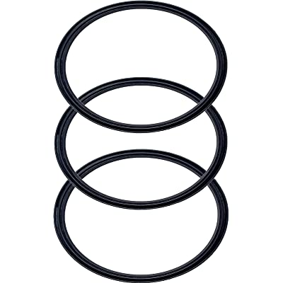 Pack of 3-20/10 oz Replacement Rubber Lid Ring,...