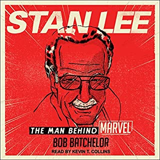 Stan Lee     The Man behind Marvel              By:                                                                                                                                 Bob Batchelor                               Narrated by:                                                                                                                                 Kevin T. Collins                      Length: 11 hrs and 39 mins     34 ratings     Overall 4.3