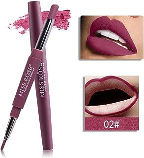 Honhui Miss Rose Womens Double-end Lasting Waterproof Lip Liner Lipstick Pencil 8 Color