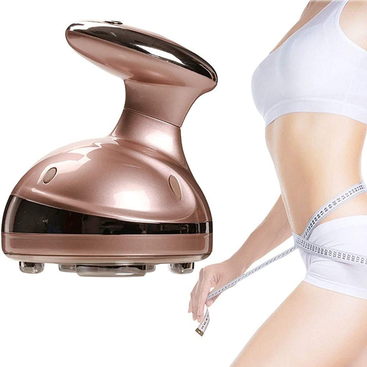 偽造悲劇的なバドミントン超音波脂肪除去機、RF脂肪燃焼振動整形美容器具脂肪除去体重減少デバイス、LEDフォトンアンチセルライト痩身ボディ美容院