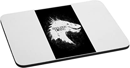 Computer Mouse Pad - 6 Eyed Monster - Desolation Coming