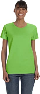5000L - Missy Fit Ladies T-Shirt Heavy Cotton - First Quality - Lime - X-Large