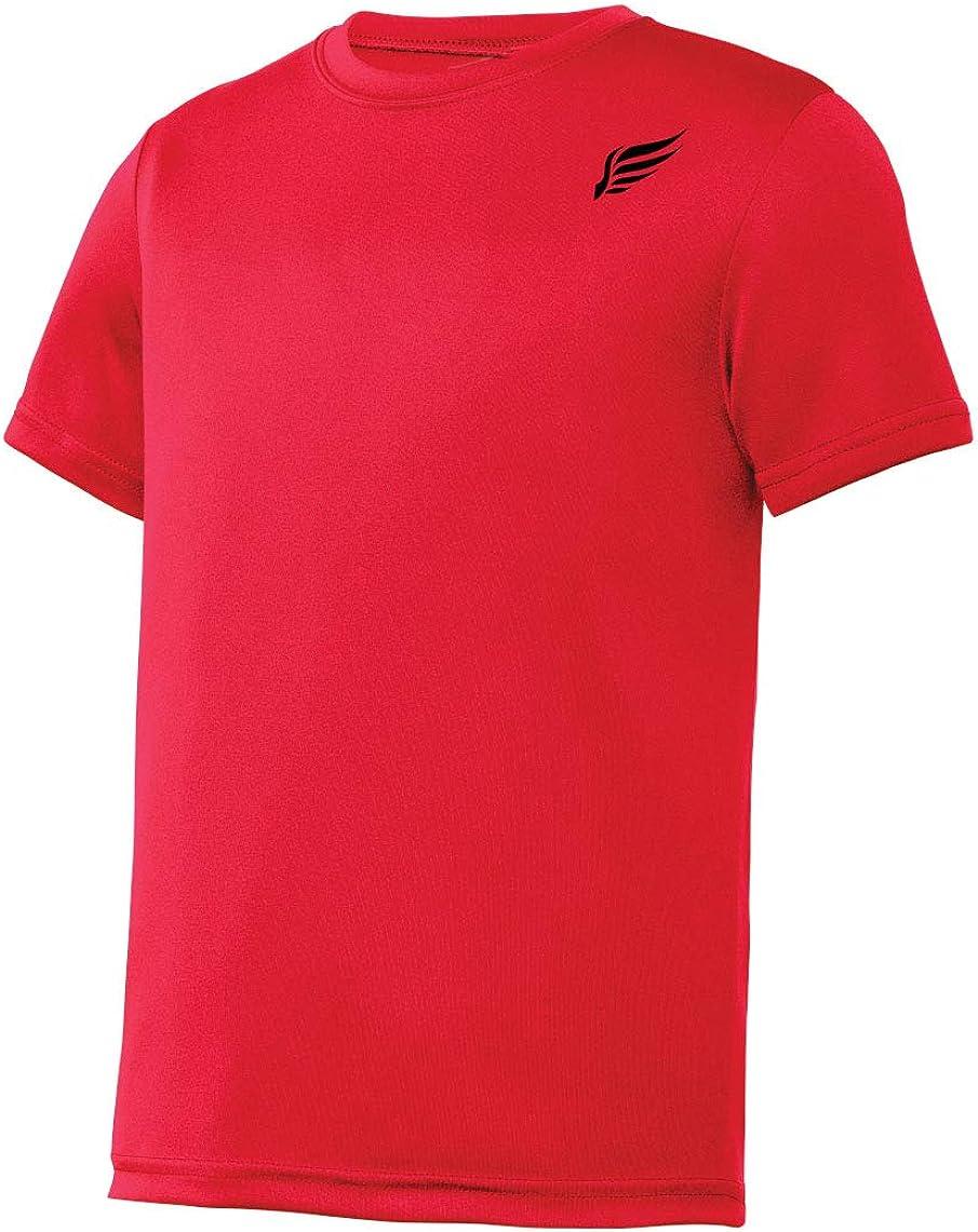 MI Falcon Baaz Boys' Top Performance T-Shirt