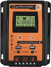 12V/24V 30A/50A/70A Intelligent Solar Panel Contrller MPPT LCD Display Solar Charge Controller Solar Battery Regulator Dual USB Port(30A)