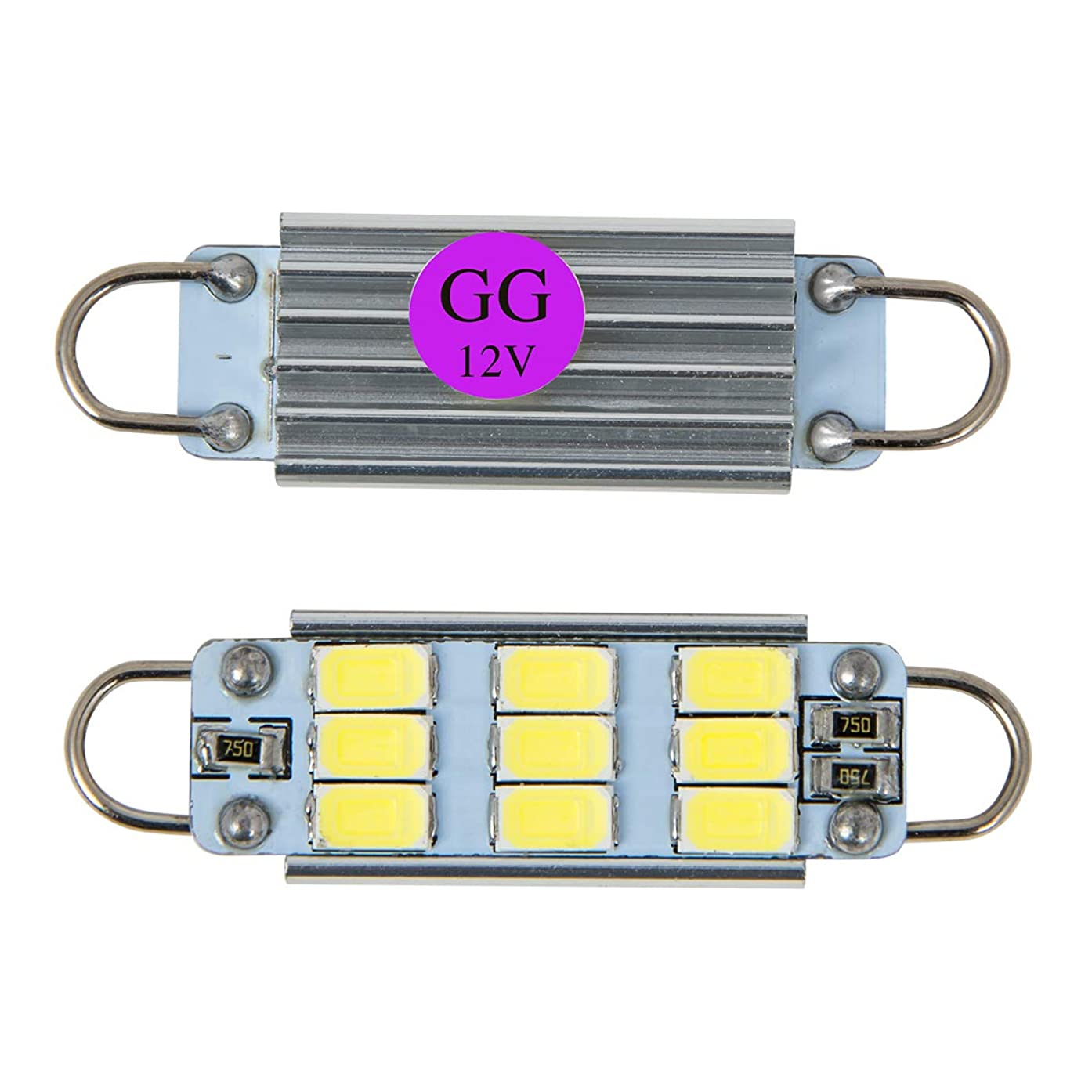 GG Grand General 70635 9 LED) Light Bulb (561 Purple 9LED Interior Dome with Heat Sink, 12V)