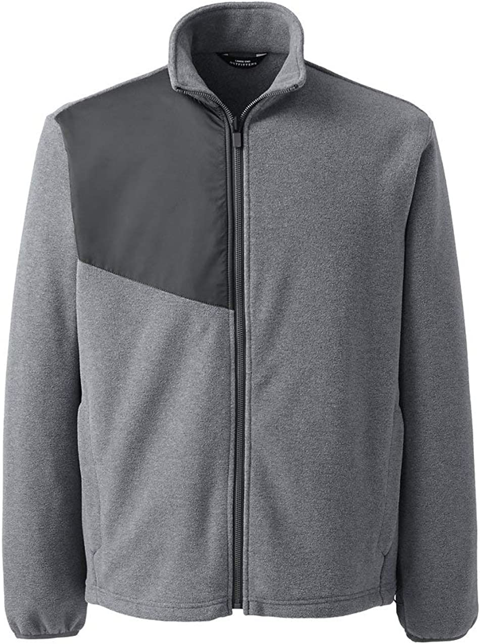 Lands' End Men's Thermacheck 200 Fleece Jacket