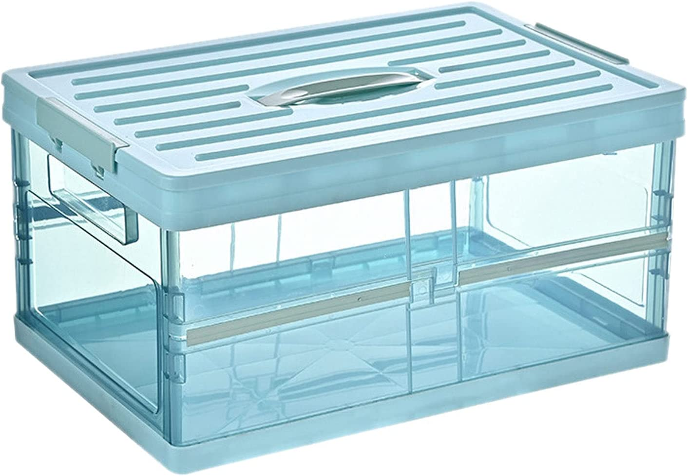 Clear Plastic Choice Storage Bin - Stackable Super sale with Lid Box Coll