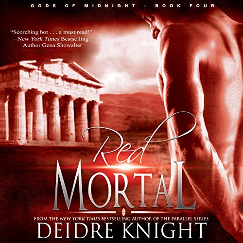 Red Mortal audiobook cover art