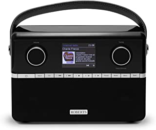 Roberts Stream94i DAB+/DAB/FM Internet Radio with Spotify Connect and Added Bluetooth - Black