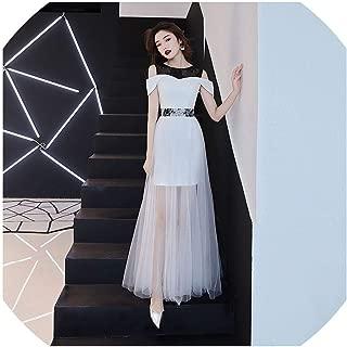 Cheongsam White Mesh Oriental Wedding Female Noble Cheongsam Vintage Party Evening Dress