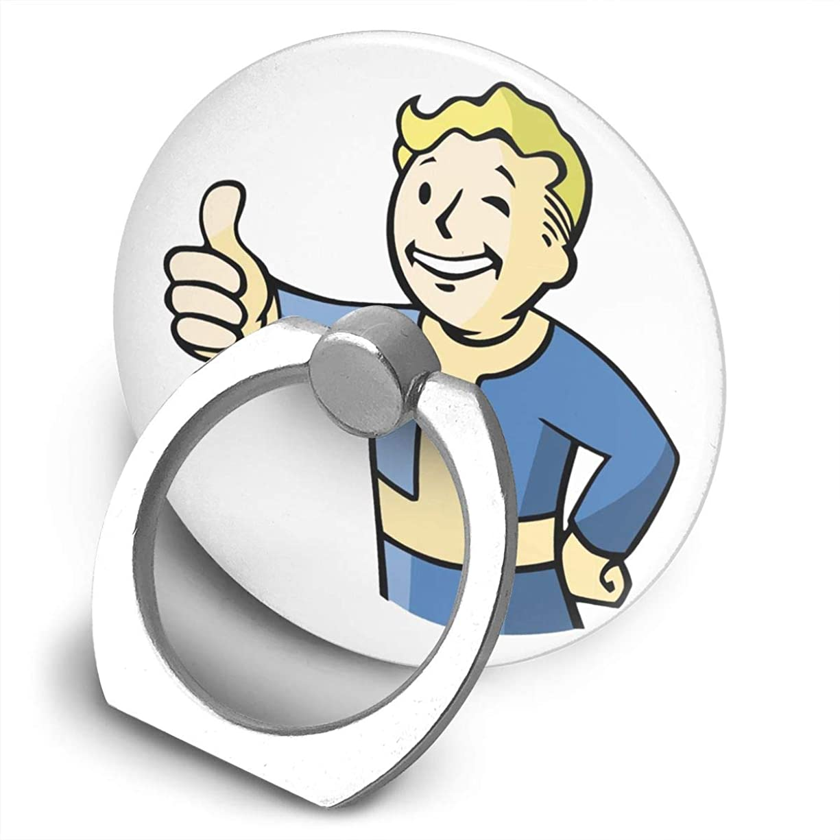 作成者ブルーベルゲストプライベートカスタム フォール アウト ボーイ スマホ リング ホールドリング 指輪リング 薄型 おしゃれ スタンド機能 落下防止 360度回転 タブレット/スマホ IPhone/Android各種他対応