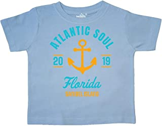 inktastic Atlantic Soul Florida Sanibel Island 2019 with Anchor Toddler T-Shirt