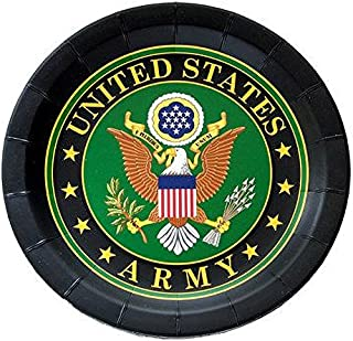 Best army party plates Reviews