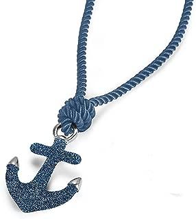 Anchor Necklace Stardust Sparkle Nautical Pendant, 23.6