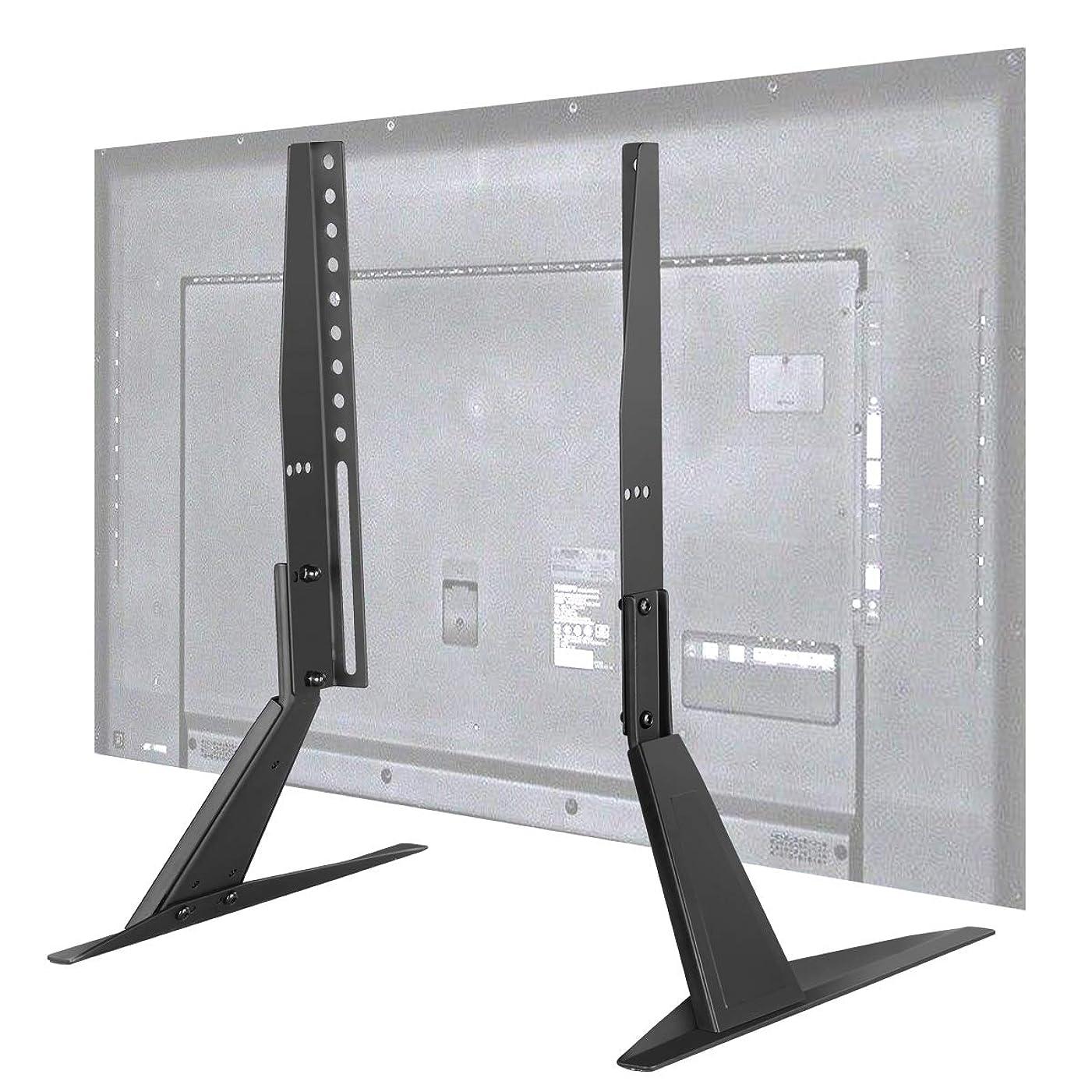 複数ファウル彫刻Suptek ユニバーサル 汎用 液晶テレビスタンド テレビ台座 テレビテーブルトップスタンド 23-42インチ対応 耐荷重40kg VESA規格200x400mm ML1732