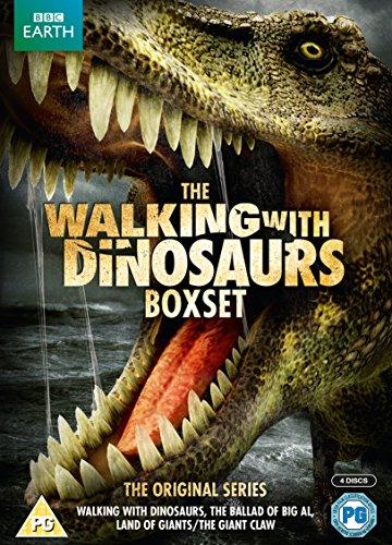Walking with Dinosaurs Box Set (repack) [4 DVDs] [UK Import]