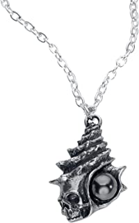 Alchemy Gothic The Black Pearl of Plage Noire Pendant