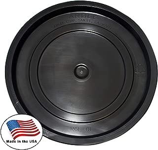 Argee RG5502BLK/10 Bucket, 3.5 gallon/5 gallon, Black
